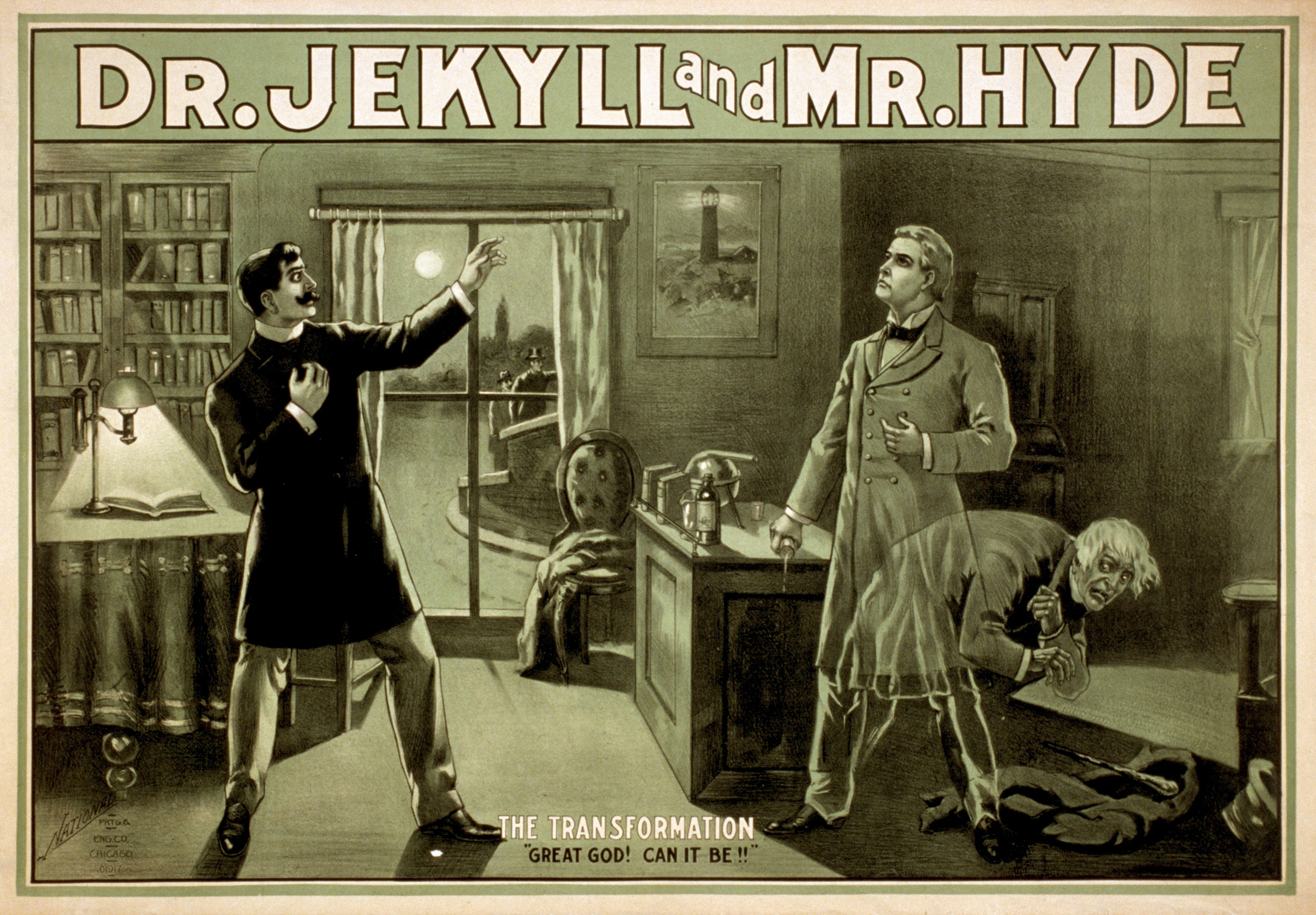 Jekyll and hyde gutenberg