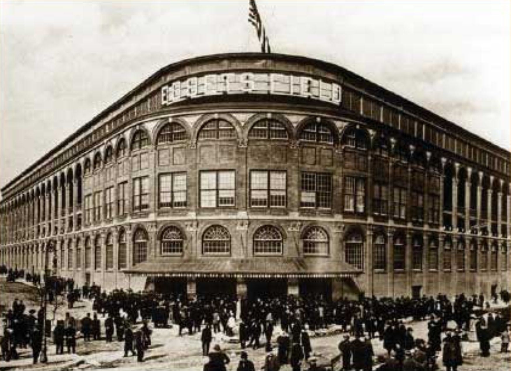 ebbets field Today is the 100-year anniversary of the opening of ebbets field, brooklyn's now -demolished major league baseball park, and in celebration.