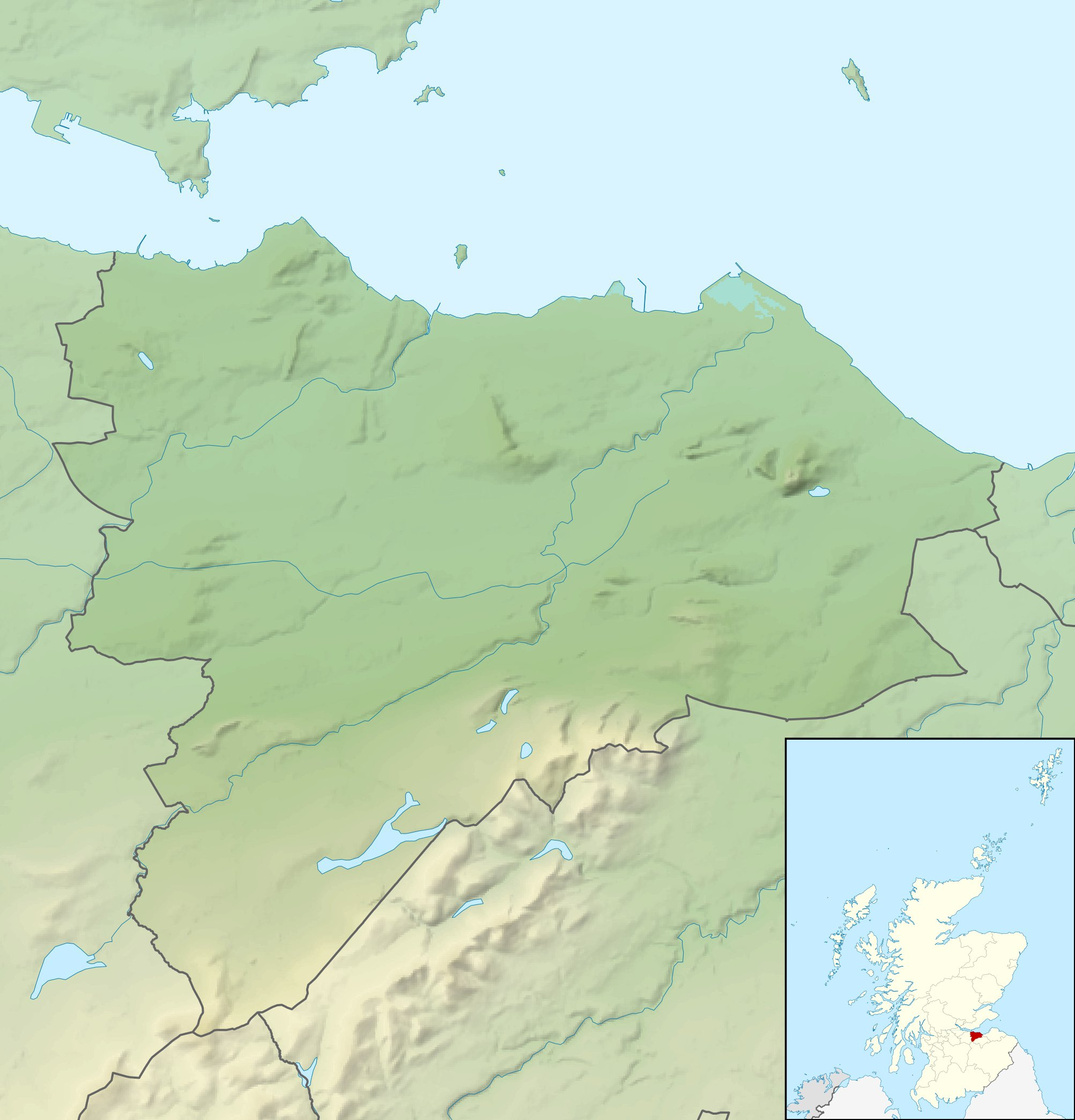 FileEdinburgh UK relief location mapjpg Wikimedia Commons