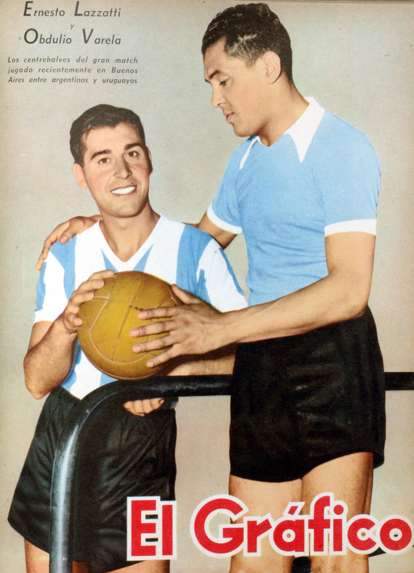 File Ernesto Lazzatti y Obdulio Varela El Gráfico 1228