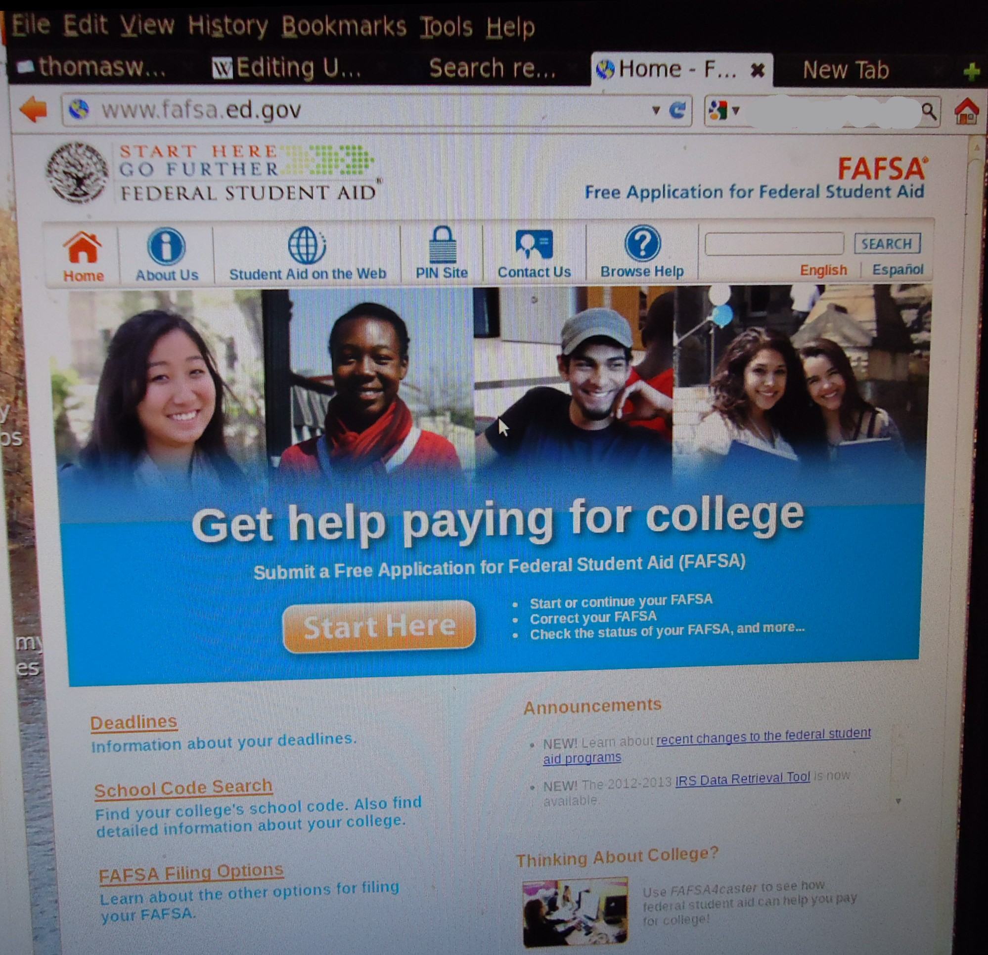 College application essay pay 2012
