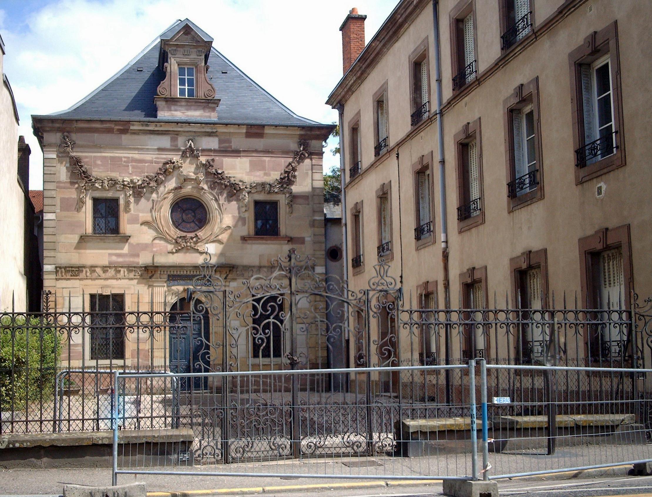 Synagogue de lun ville for Piscine de luneville