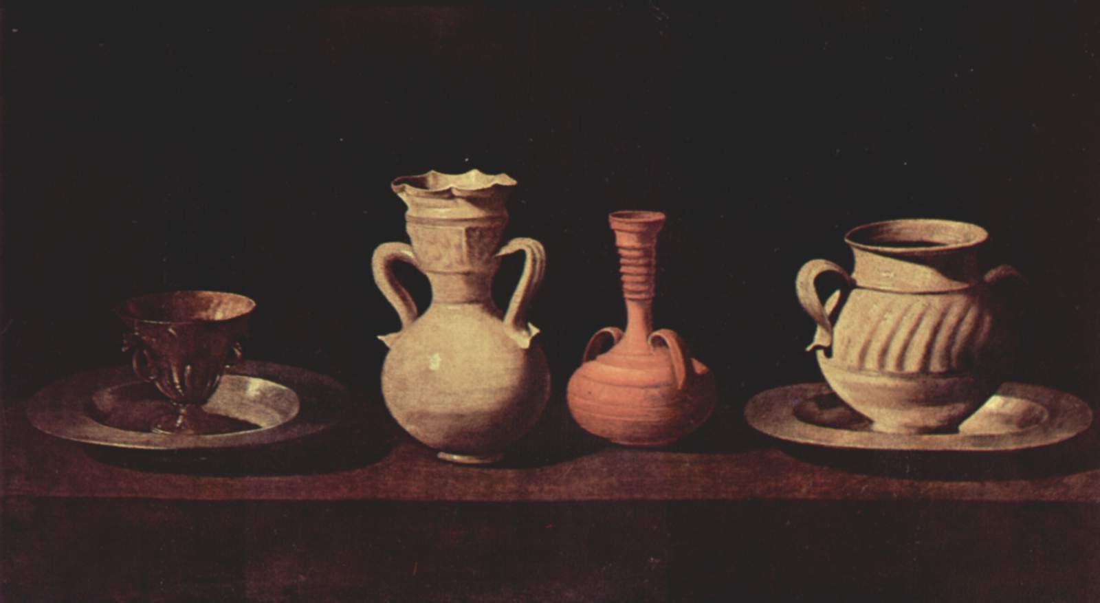 Francisco de Zurbaran, Plates and Vases 1633