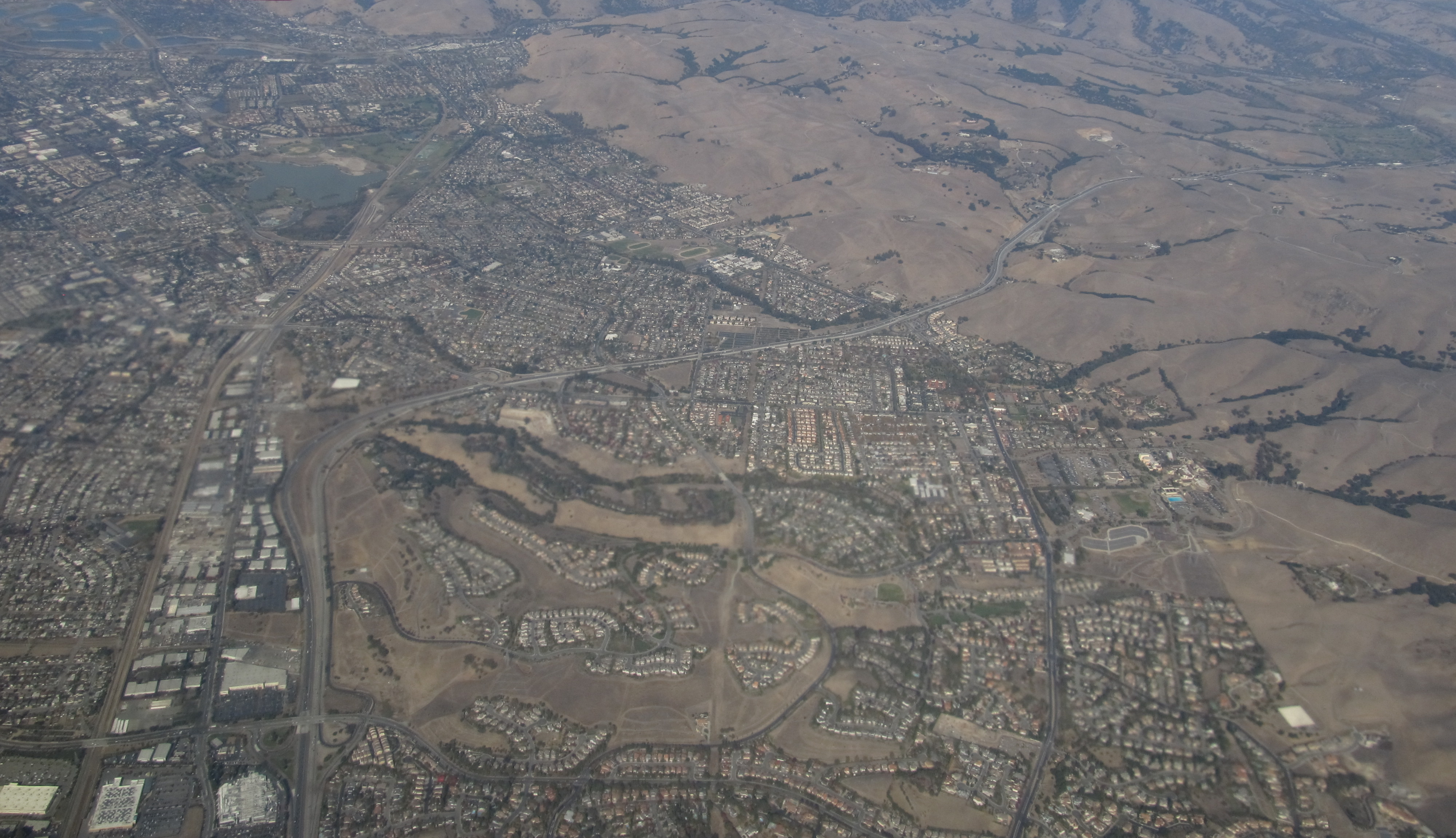 Fremont CA Aerial View