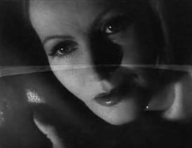 Cropped screenshot of Greta Garbo from the tra...