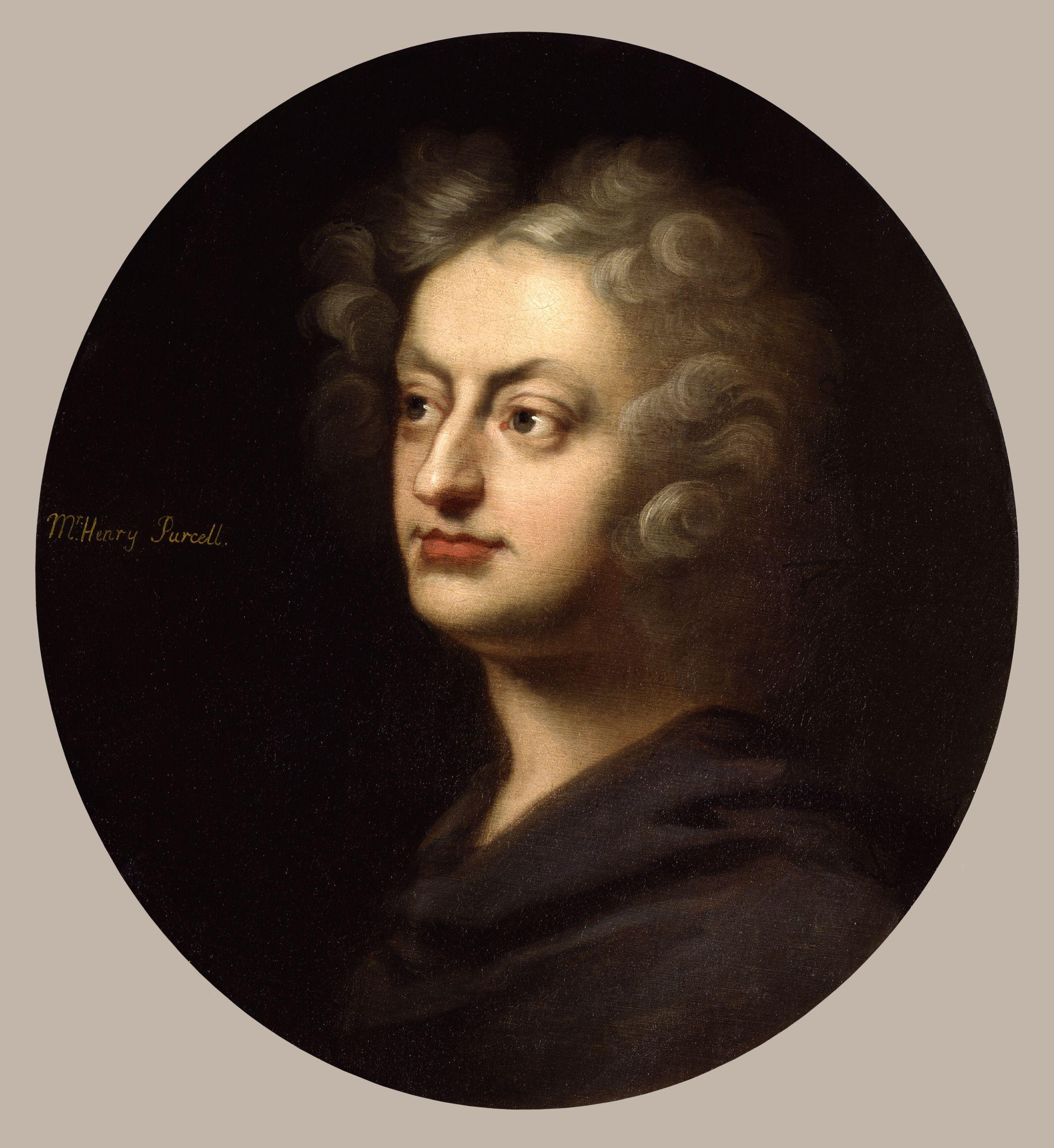 Depiction of Henry Purcell