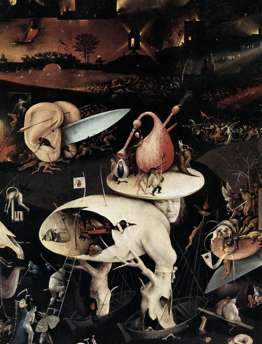 Bosch 39 s 39 garden of earthly delights 39 inspires an augmented - Hieronymus bosch garden of earthly delights ...
