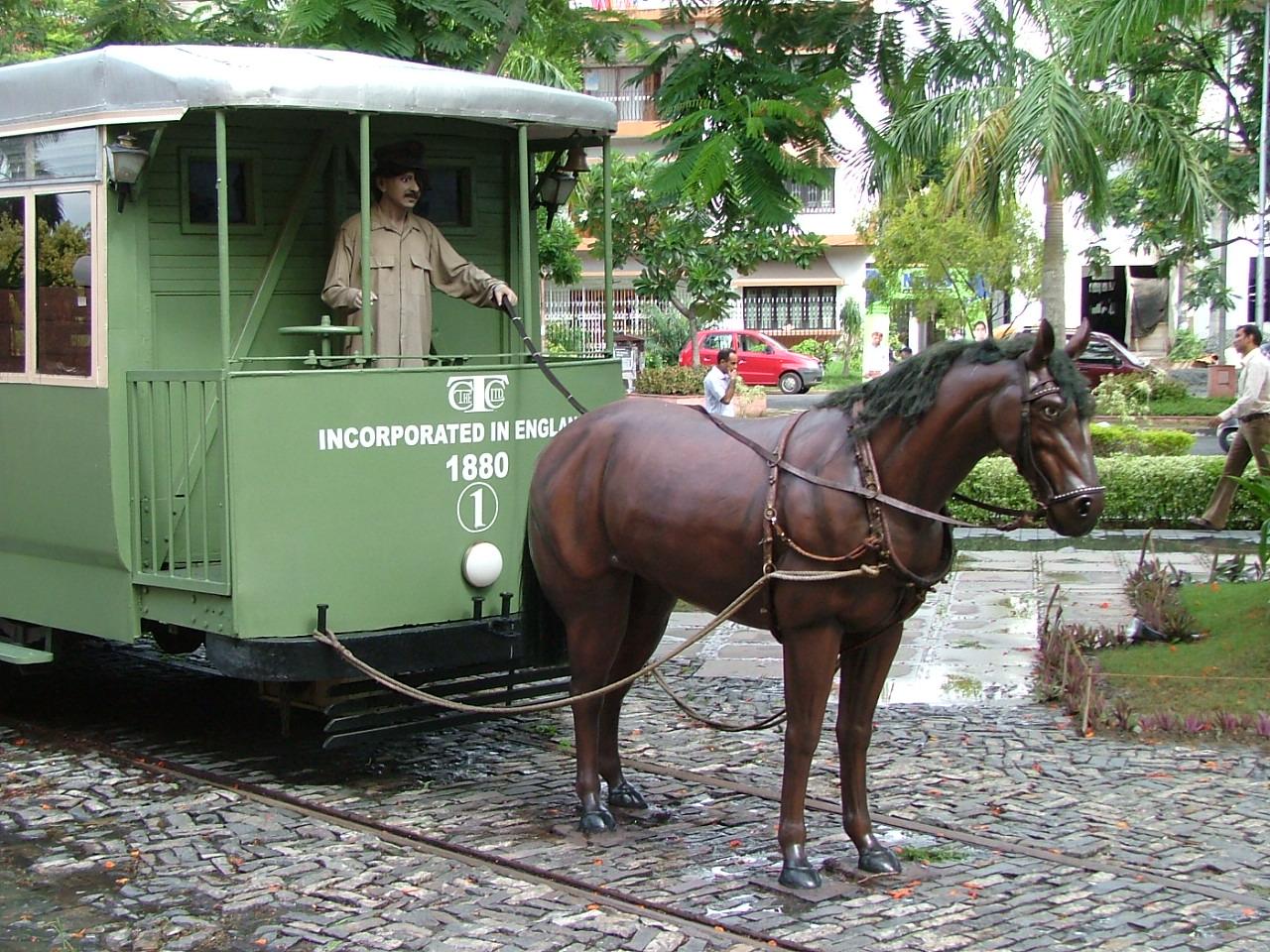 Horse-Drawn Trams