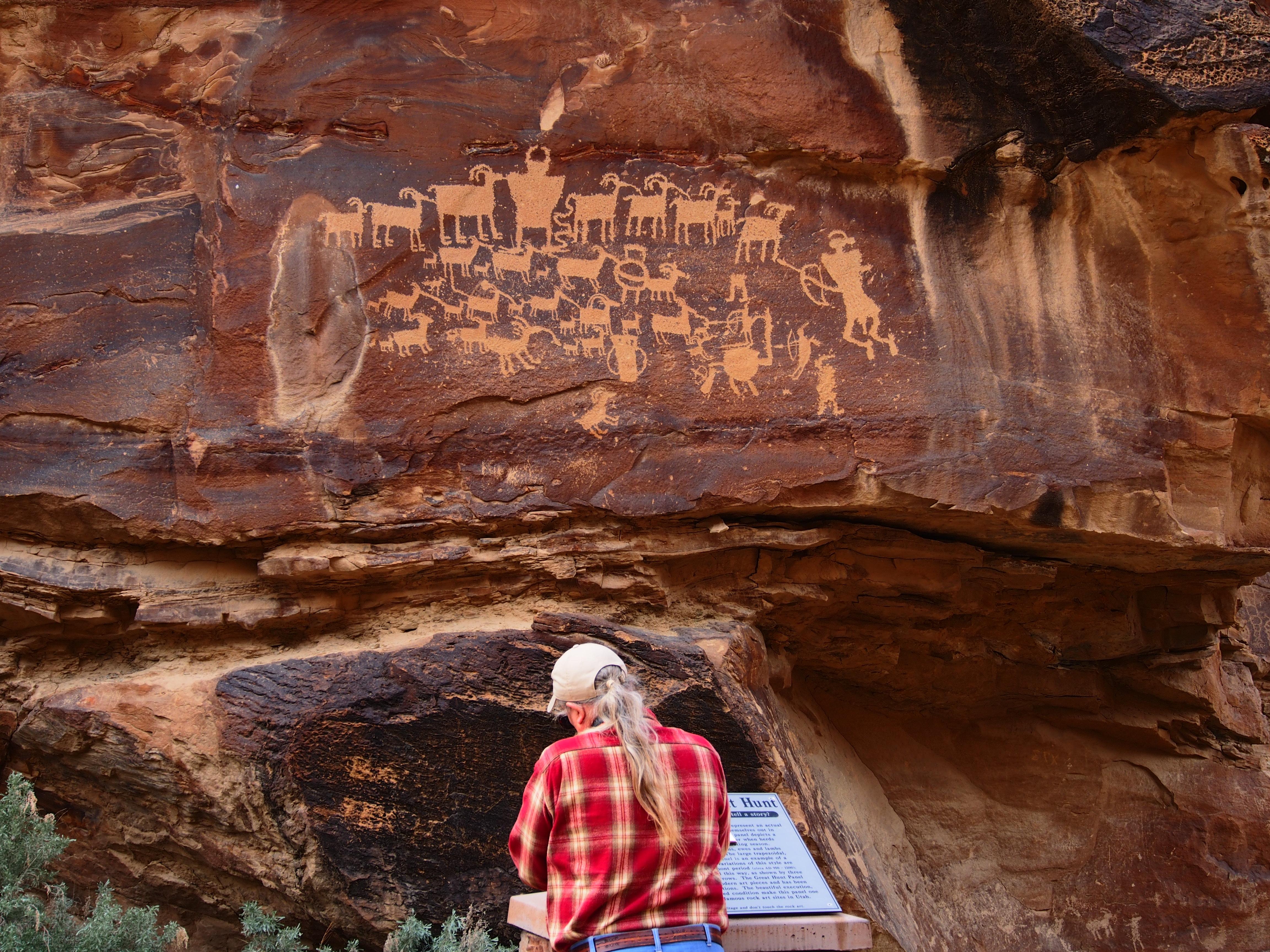 Petroglyphs Utah Nine Mile Canyon Nine Mile Canyon National
