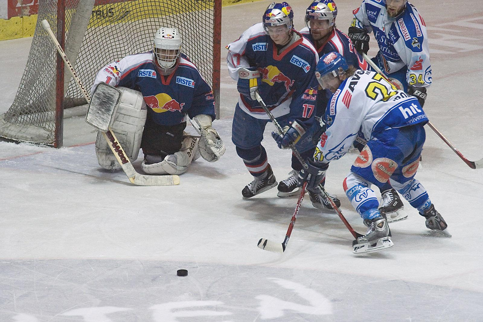 File:Ice Hockey goalkeeper Irbe of EC Red Bull Salzburg.jpg ...