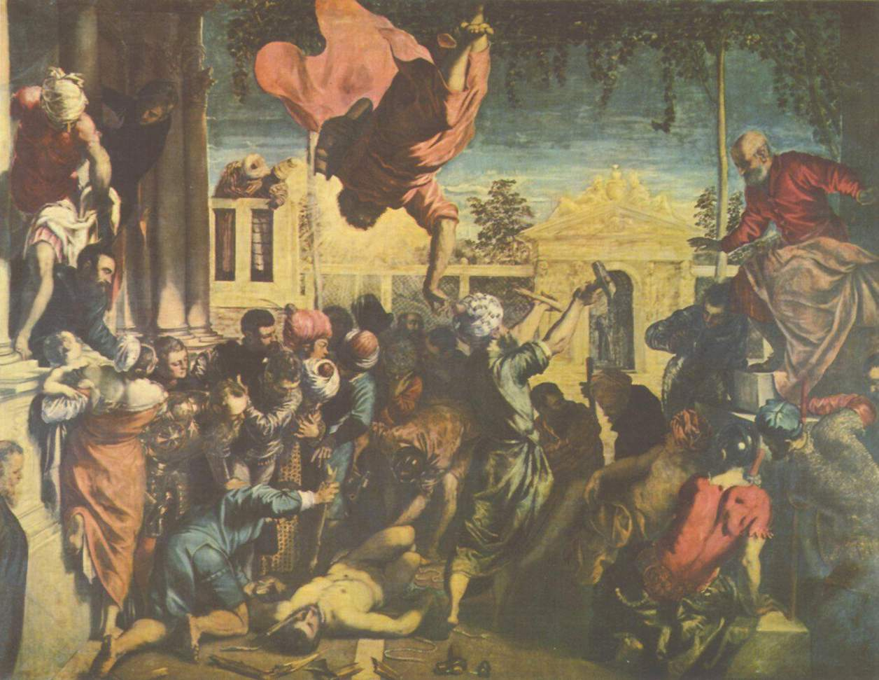 Il miracolo di san Marco che libera lo schiavo -1548 -Tintoretto