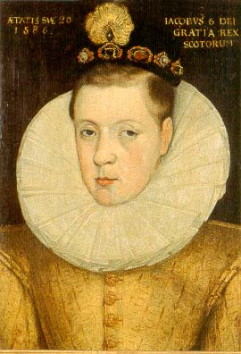 Berkas:James VI of Scotland aged 20, 1586..jpg
