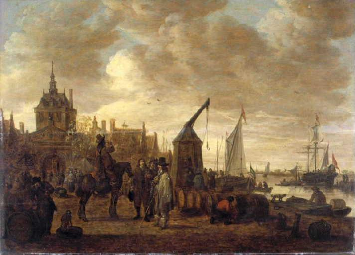 A Harbor (Dordrecht?)