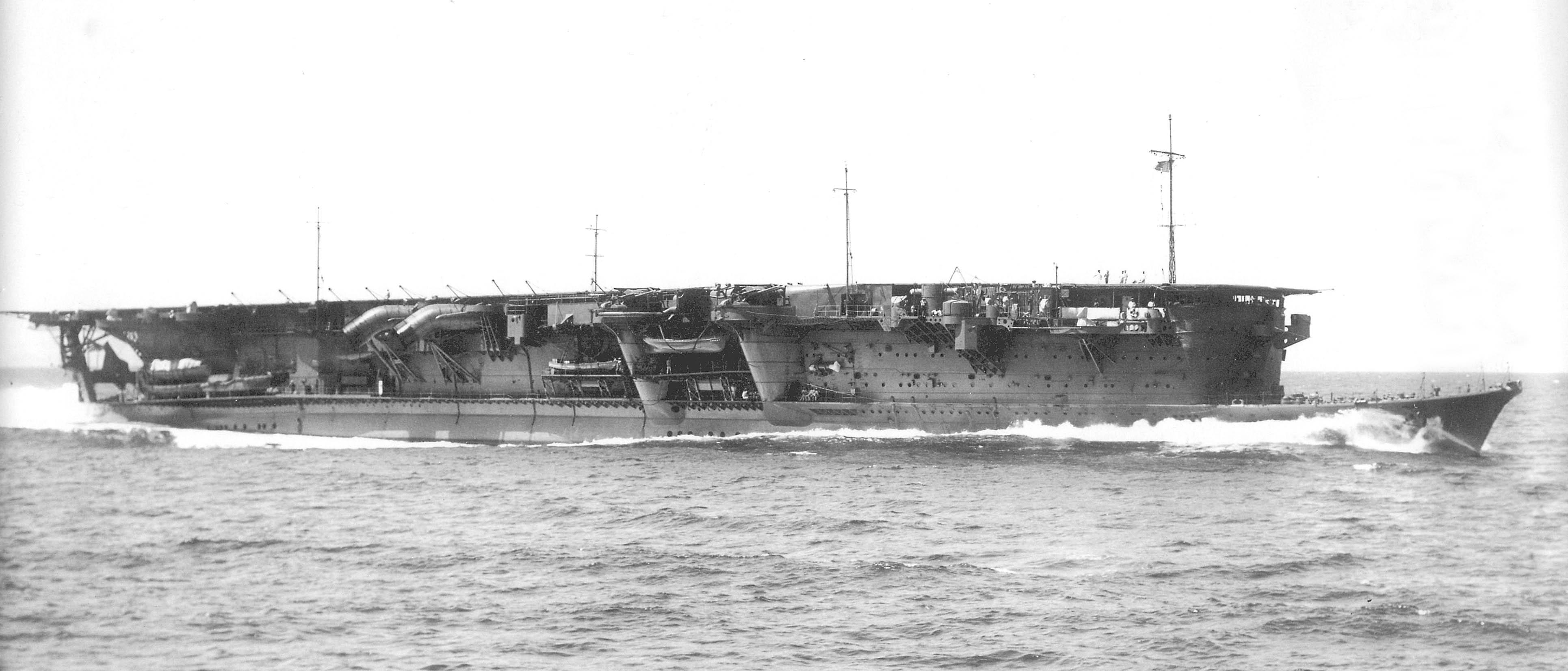 Japanese aircraft carrier Ryūjō - Wikipedia