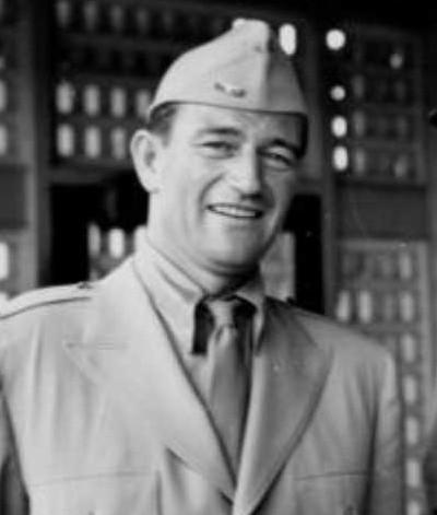 John Wayne Brisbane 1943