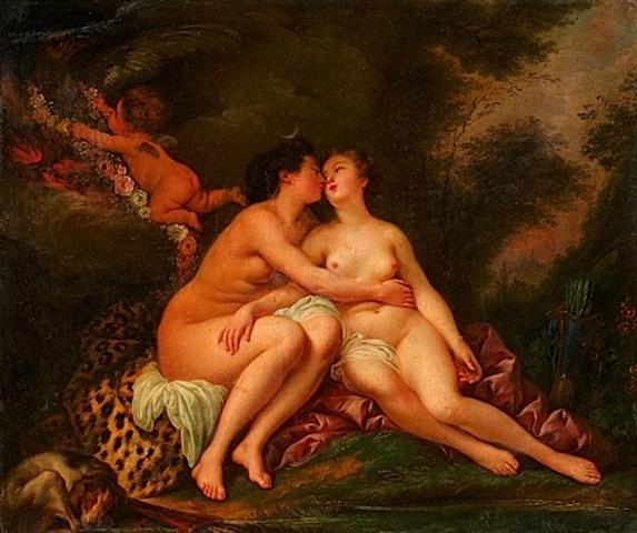 Diane et Callisto