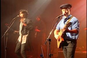 El dúo brasileño Kleiton e Kledir; imagen de los archivos de TV Brasil.