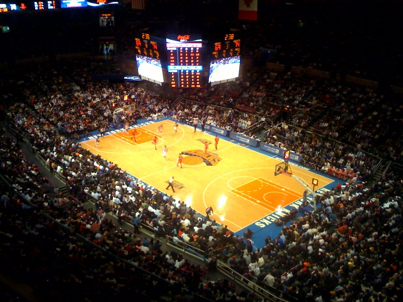 File Knicks Playing At Madison Square Wikipedia