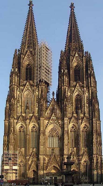 تاريخ وحضاره _تاريخ العمارة القوطية