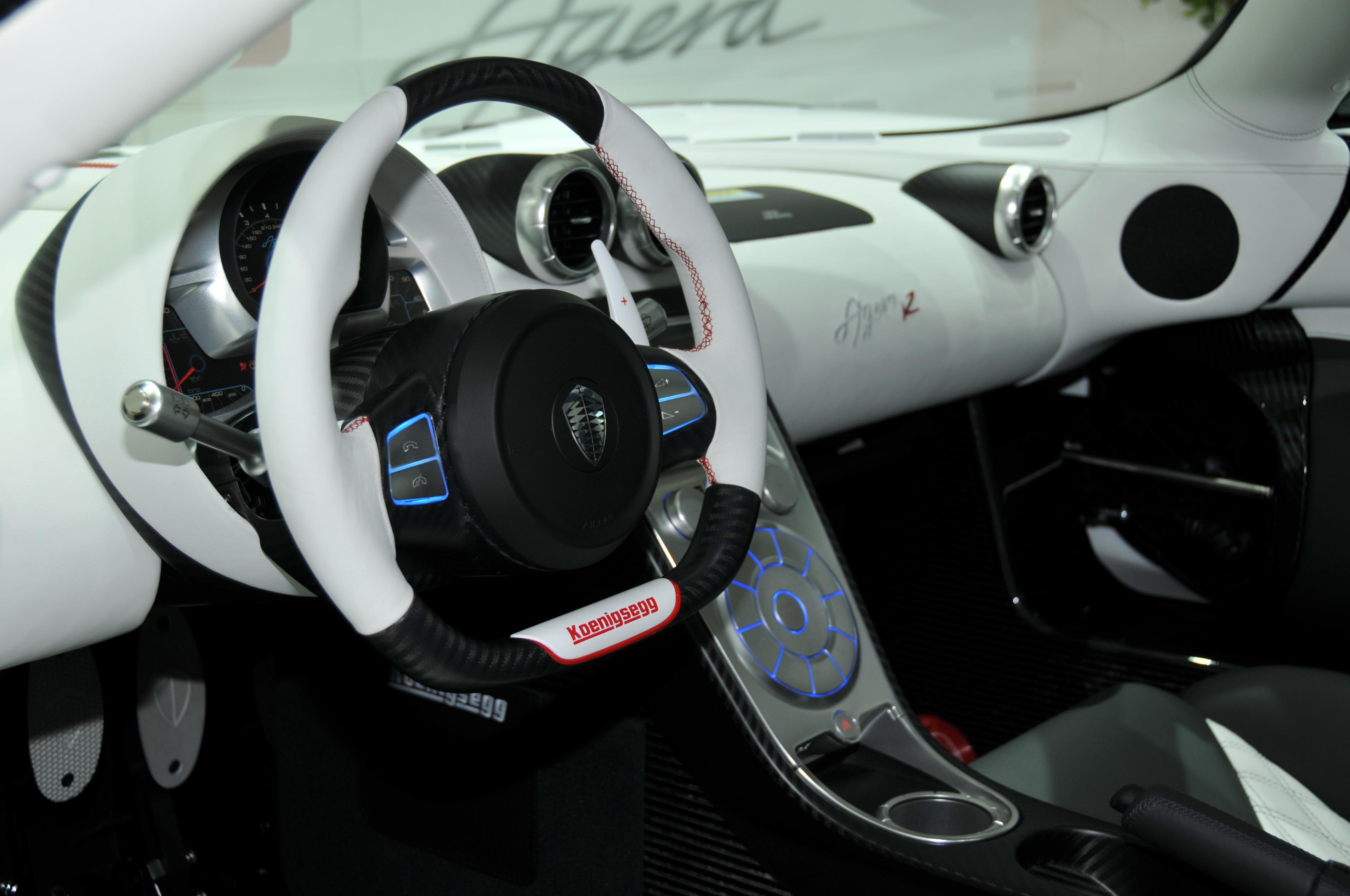 Koenigsegg Agera Interior
