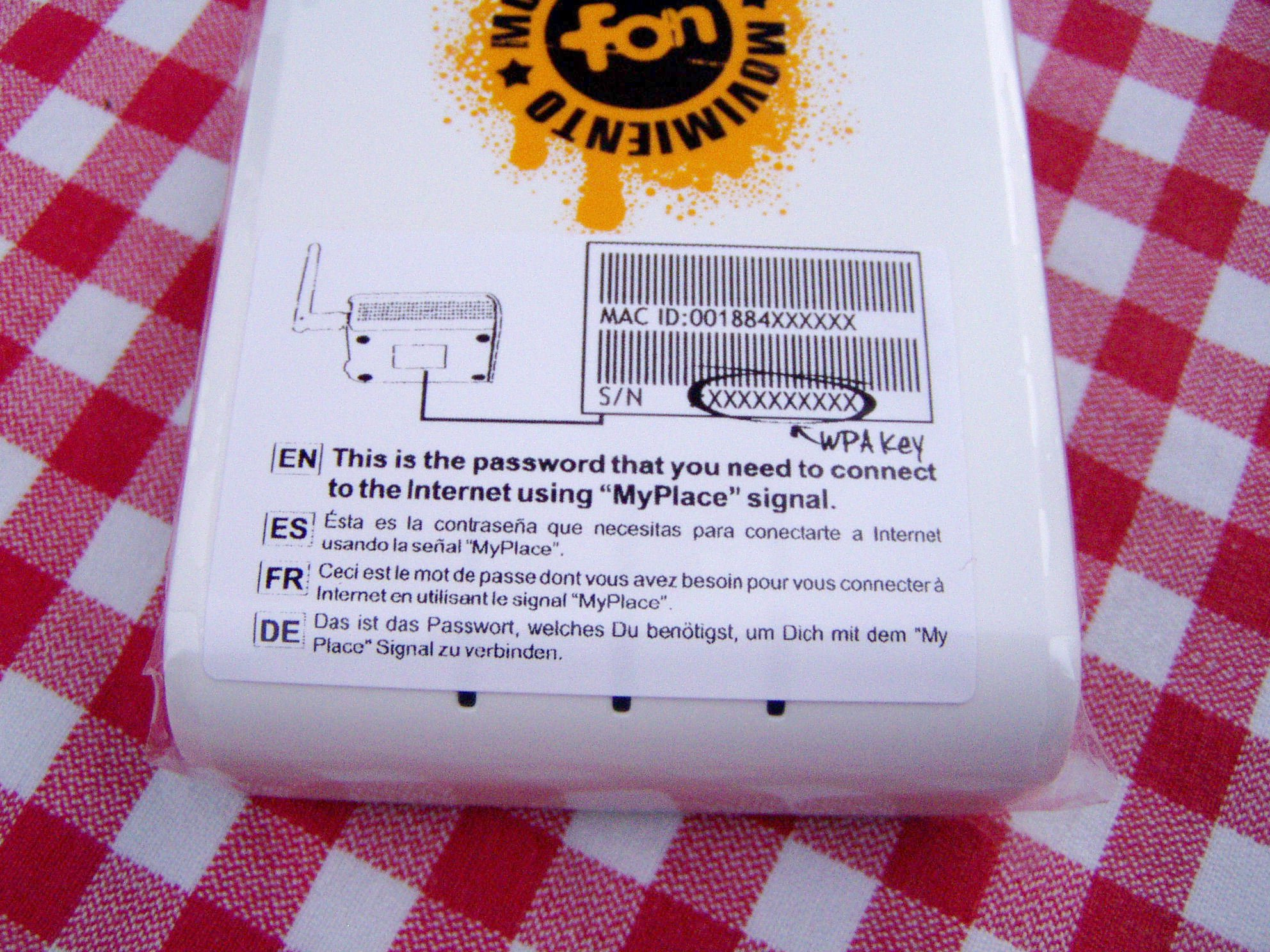 General faqs: sbg6580: changing the wi-fi security key.