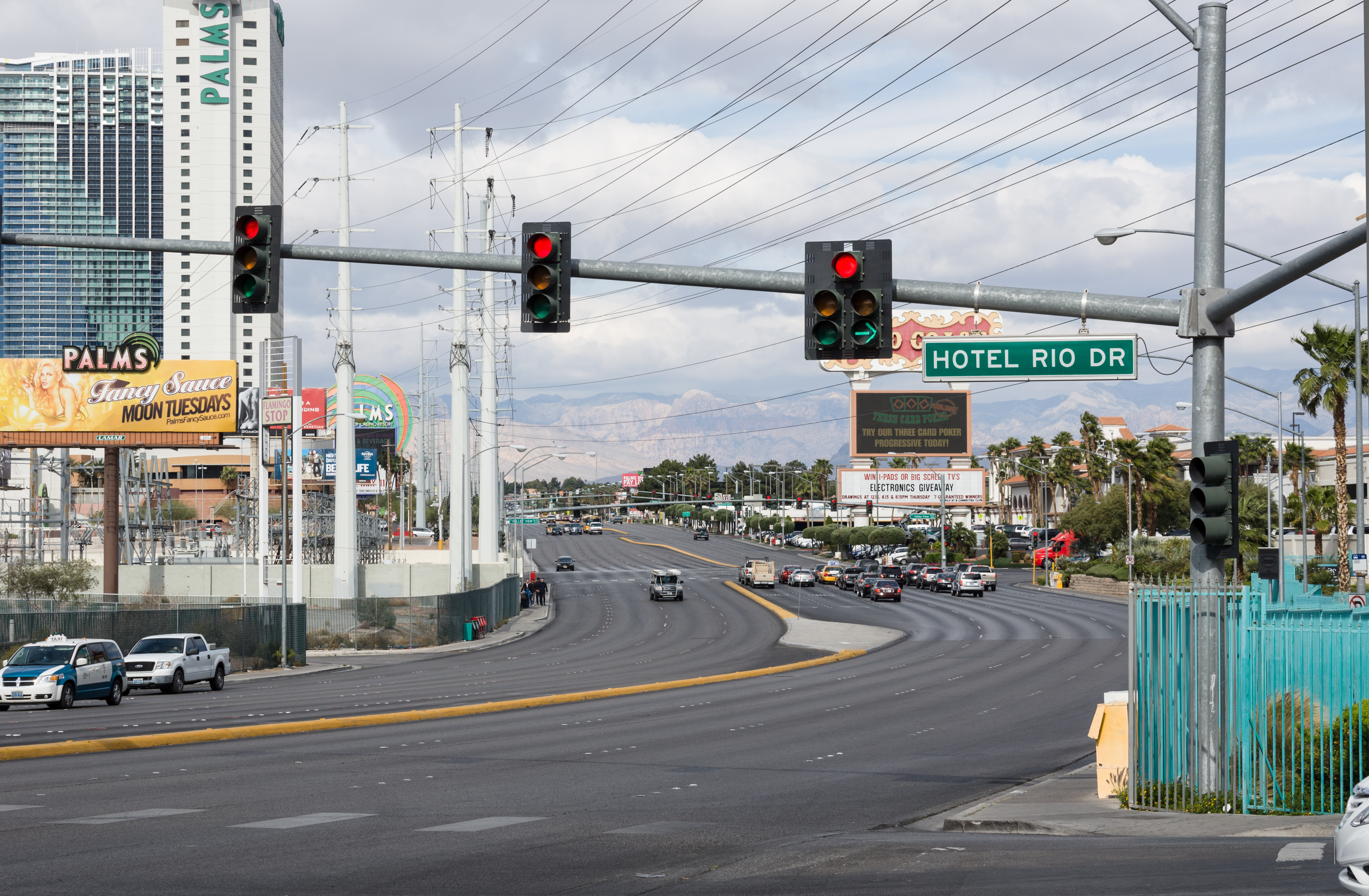 File Las Vegas Flamingo Rd And Hotel Rio Dr Intersection Jpg Wikimedia Commons