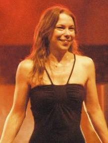 Singer Lhasa de Sela in concert in Stuttgart, ...
