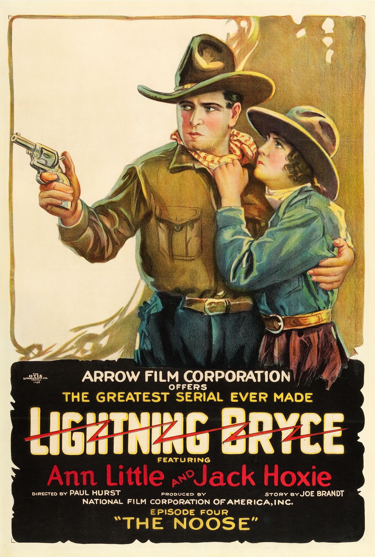 Lightning Bryce Lobby Card Movie Poster Western Ann Little Jack Hoxie