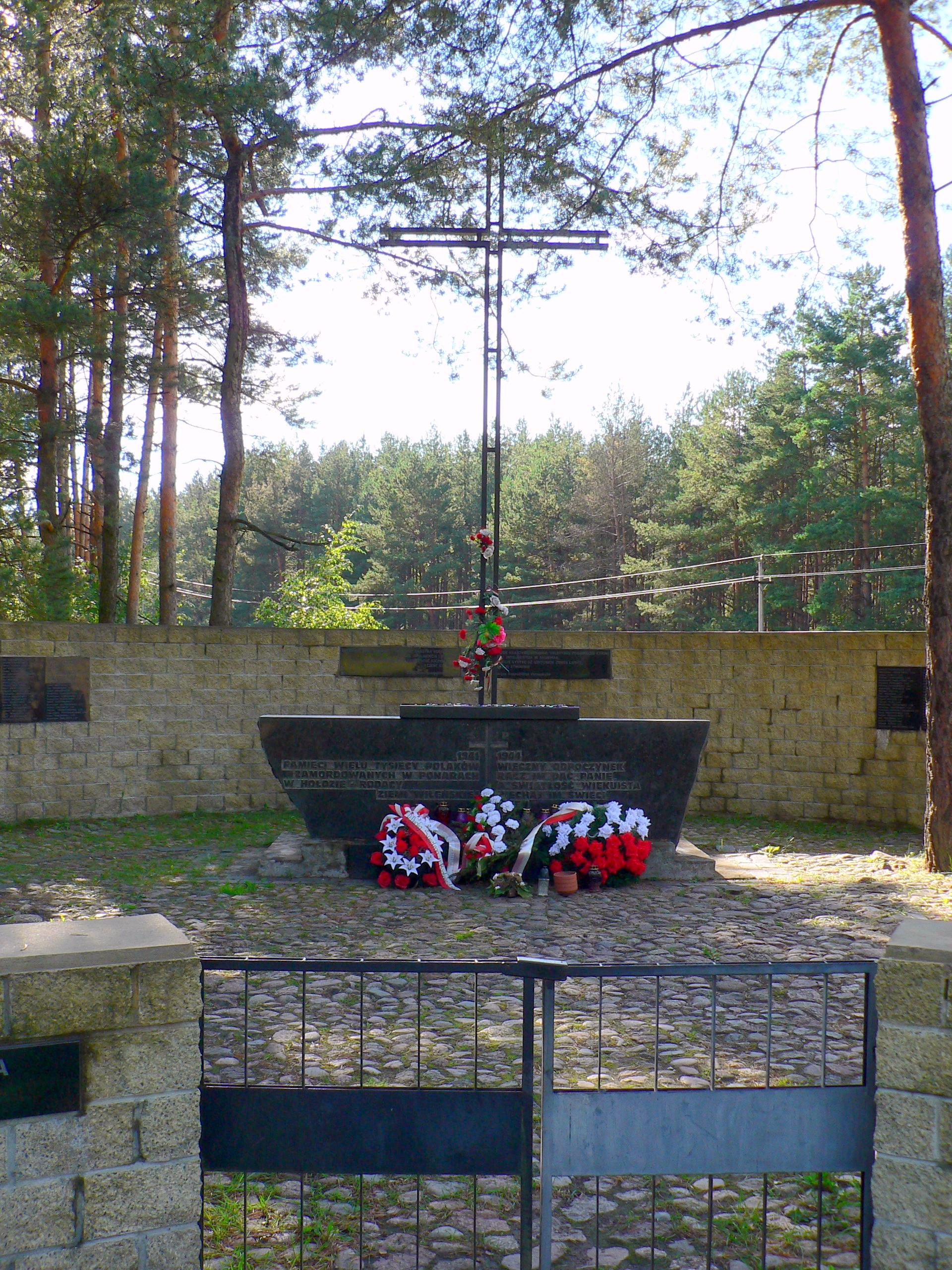 Lithuania Ponary Monument.jpg