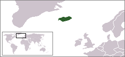 Location of Iceland