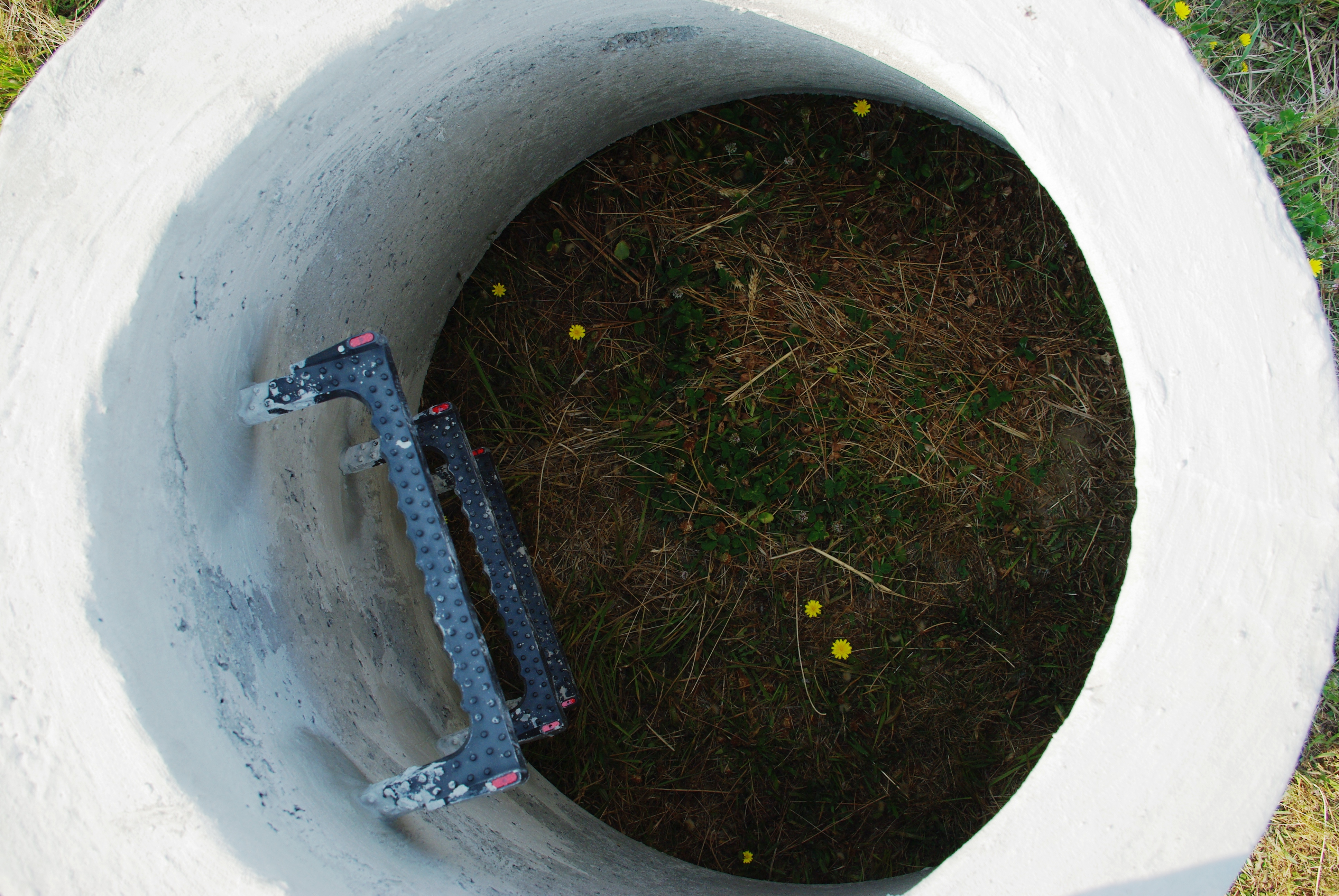File Looking Inside Storm Sewer Drain Hillsboro Oregon