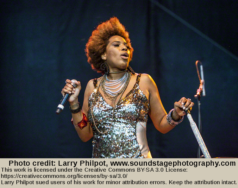Depiction of Macy Gray