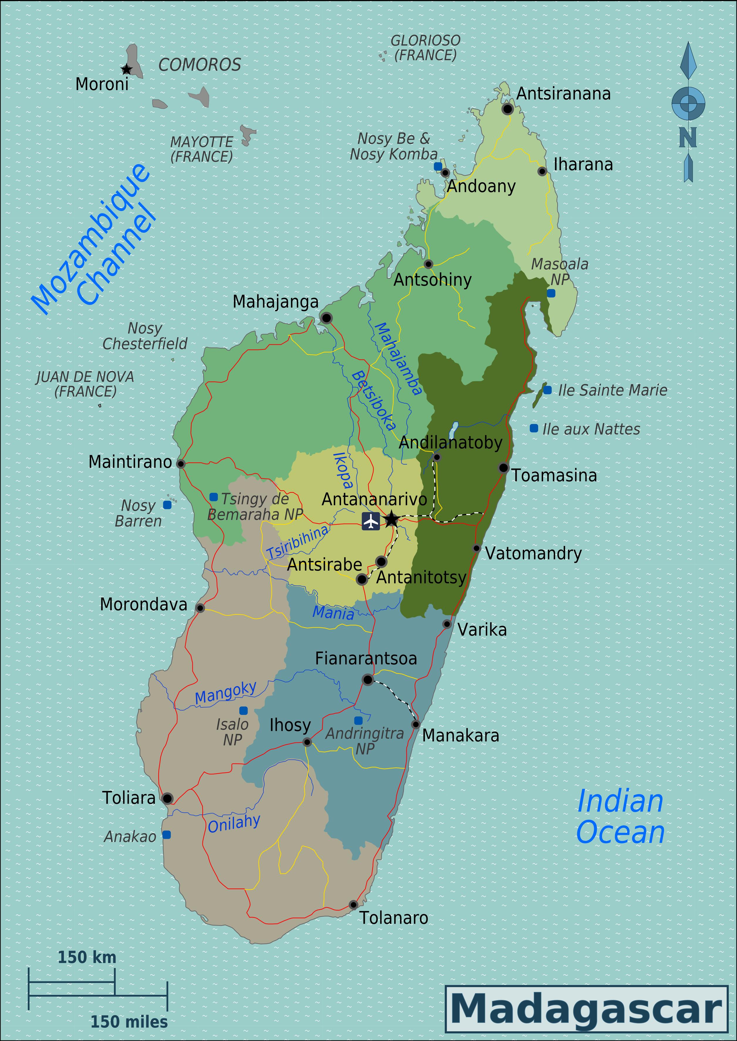 Madagaskar Karte.Madagaskar Reisefuhrer Auf Wikivoyage