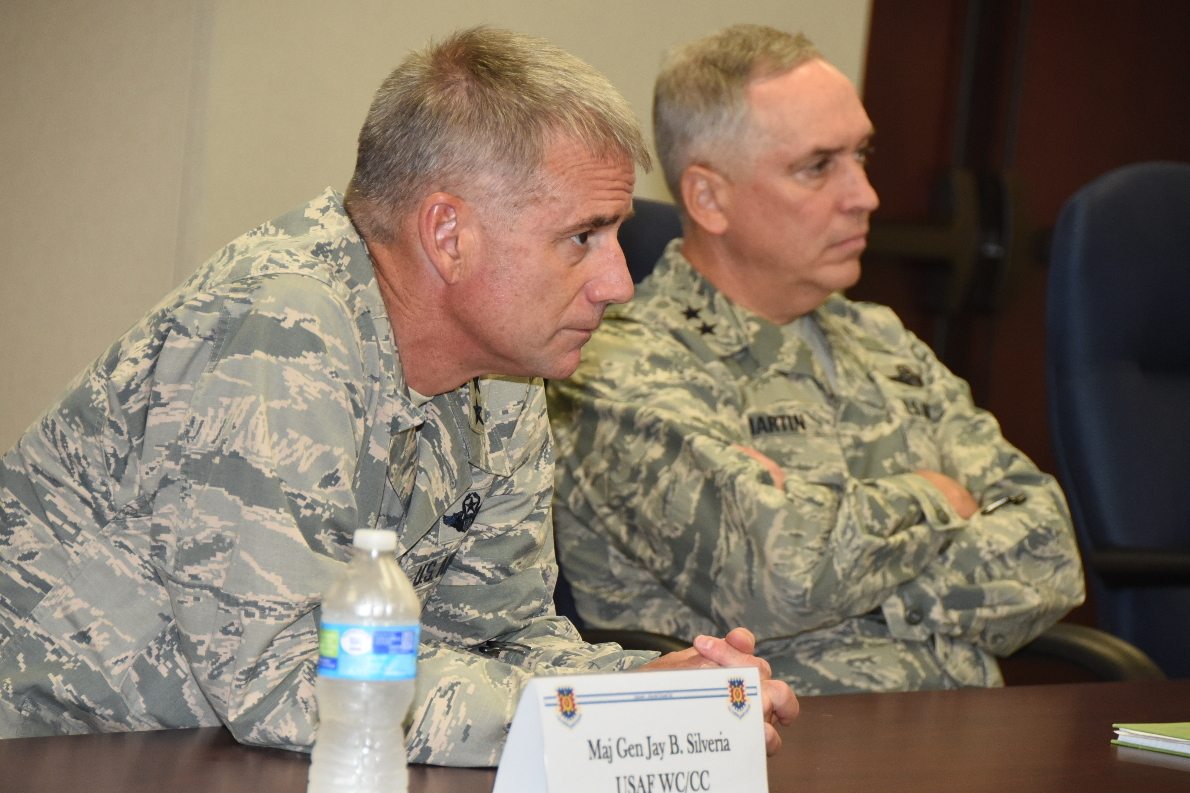FileMaj Gen Jay Silveria visit to Joint Base McGuireDix