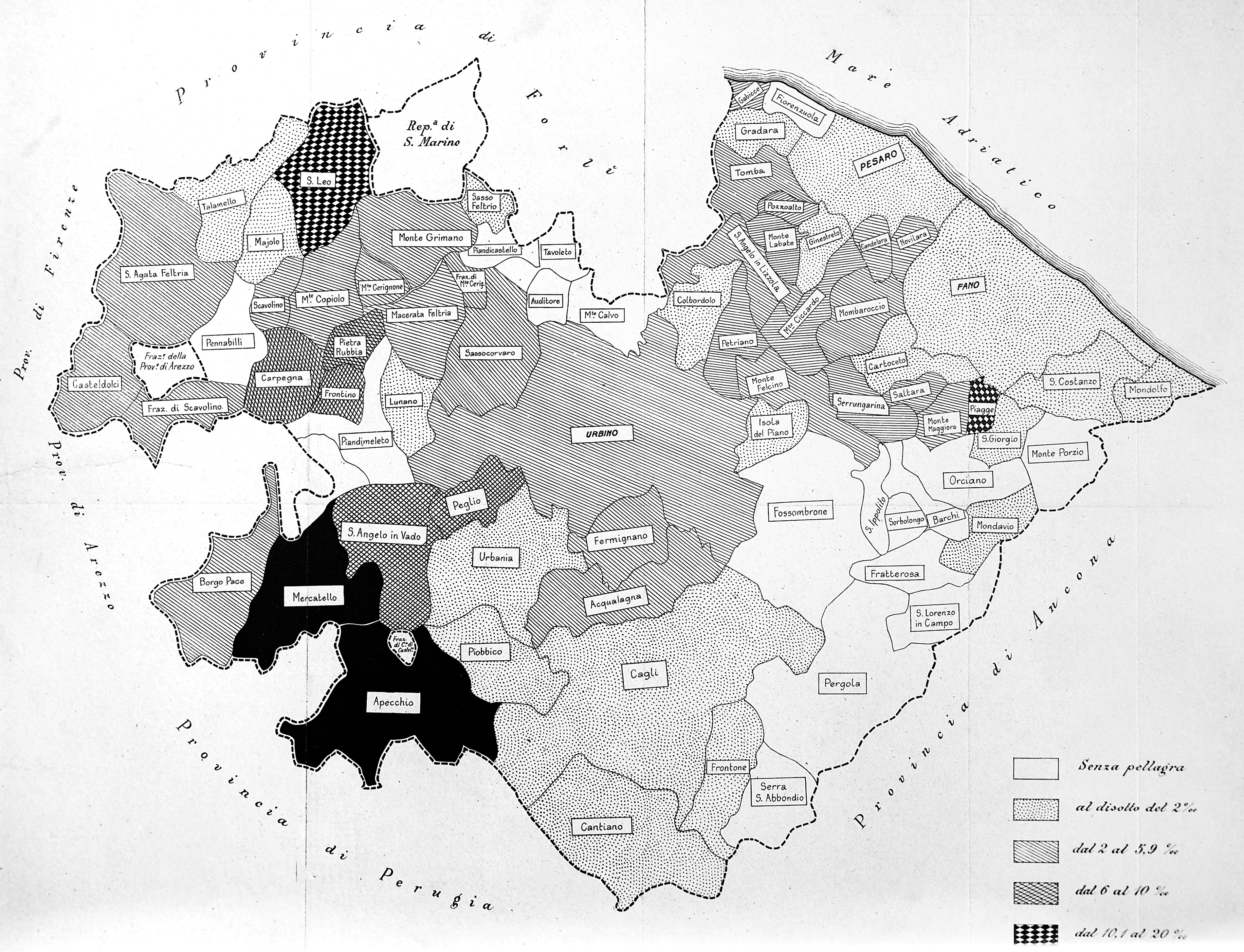 Map Of North West Italy.File Map Incidence Of Pellagra In Northwest Italy Wellcome