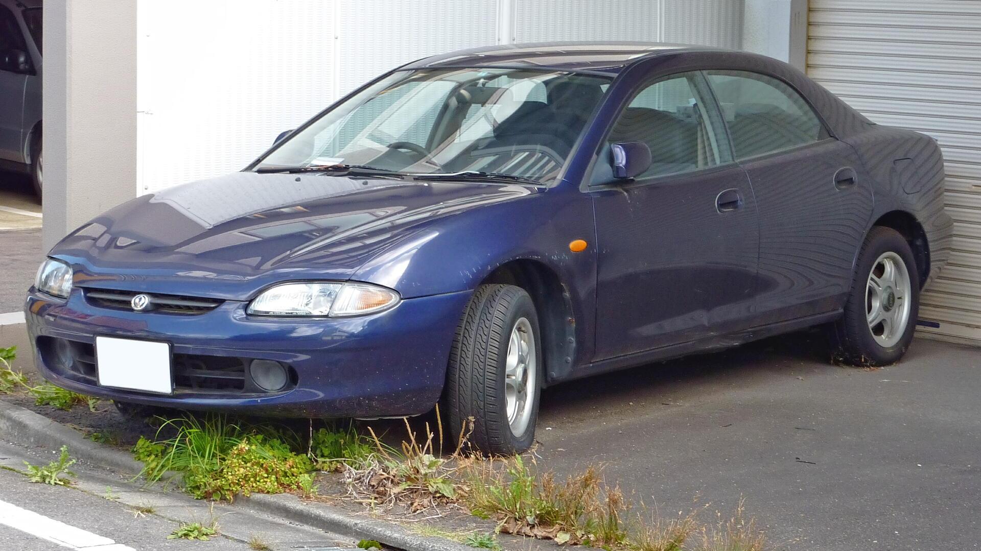 Mazda 2 Hatchback >> Mazda Lantis - Wikipedia, den frie encyklopædi