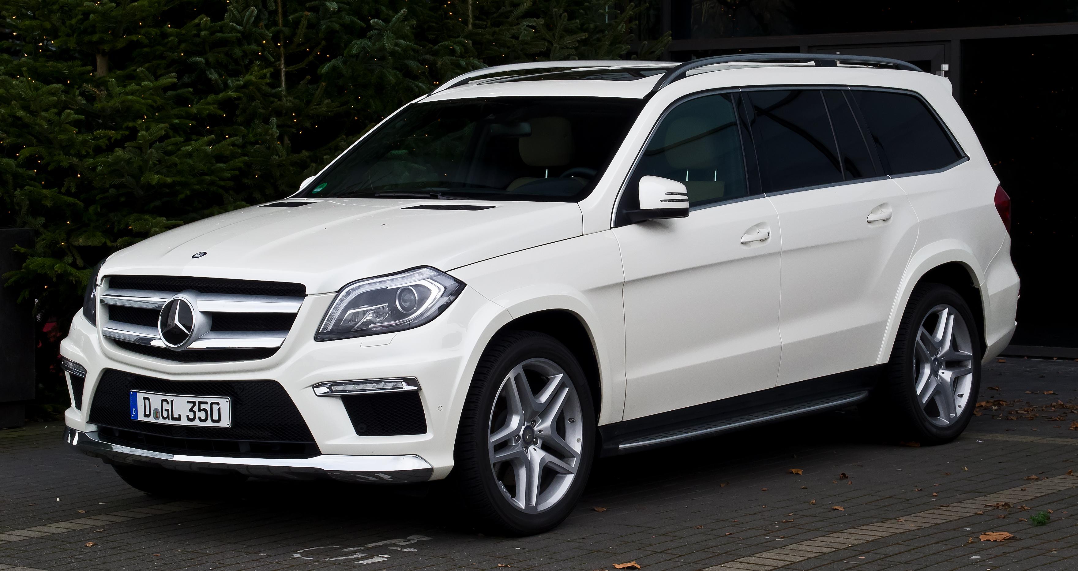 Mercedes benz gl class wikiwand for Mercedes benz gl class mercedes suv