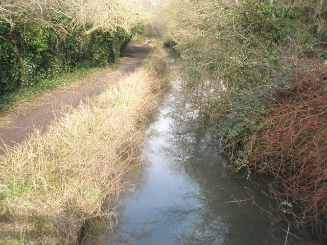 Mid section of Canal Walk - geograph.org.uk - 1169798
