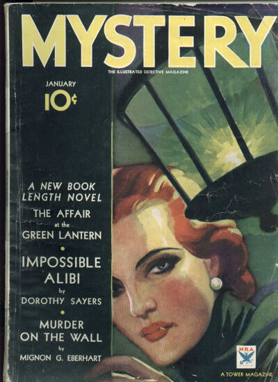 Picture of a book: Mystery Fiction