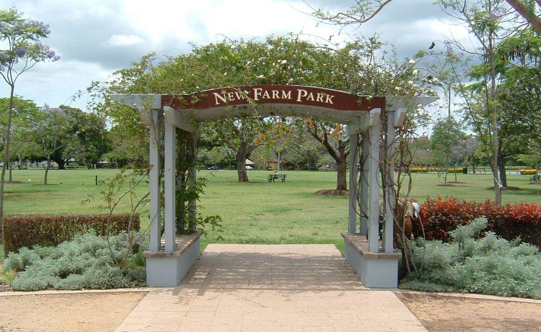 New Farm Park Photos History[edit