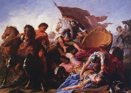 Image result for antiochus fall from chariot