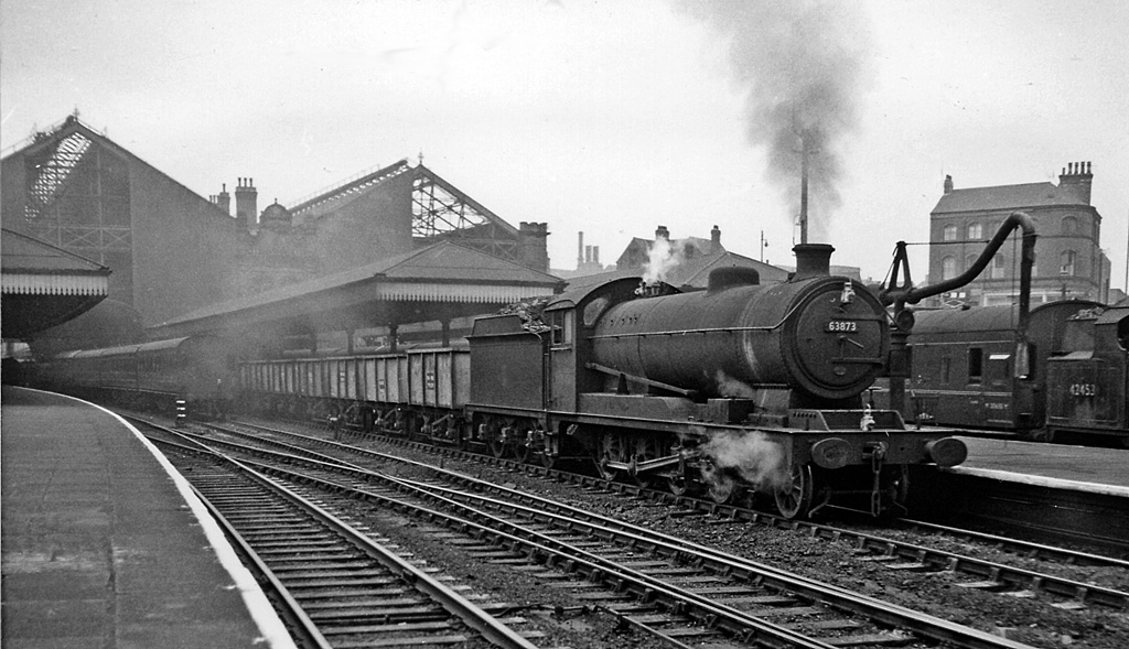 File Nottingham Victoria Station With An Up Ore Empties