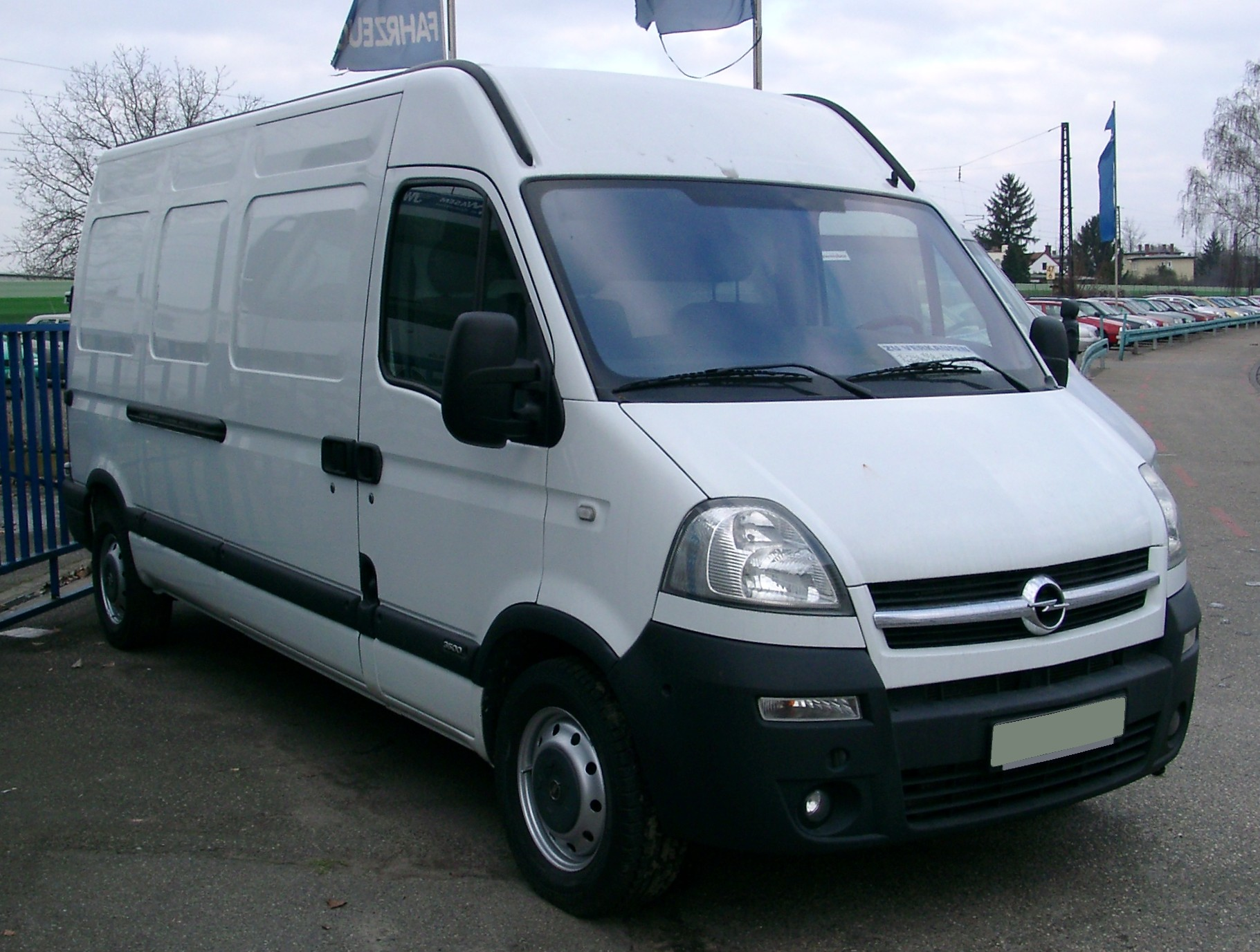 Vaizdas Opel Movano Front 20080102 Jpg Vikipedija