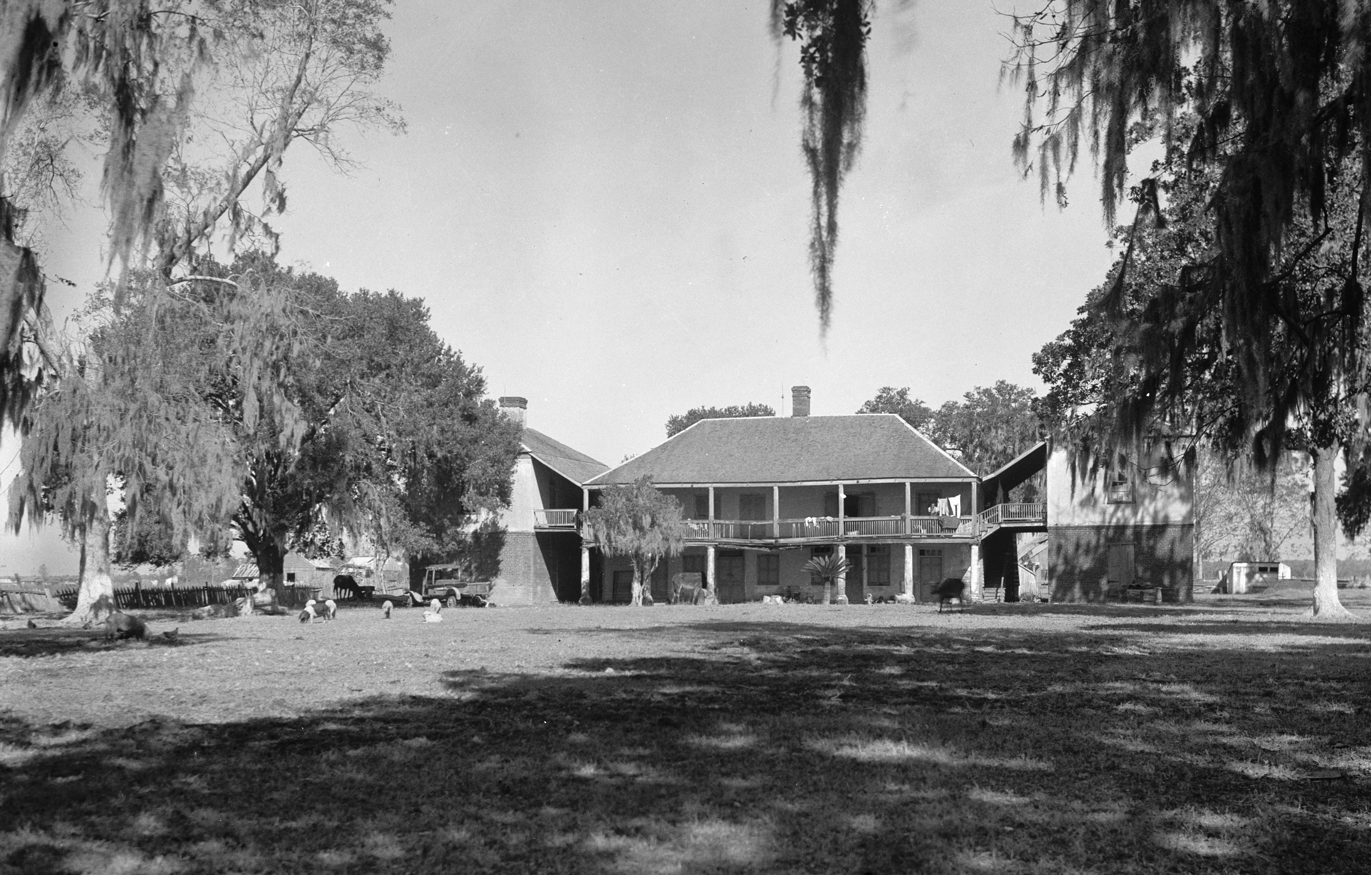 new orleans plantation history