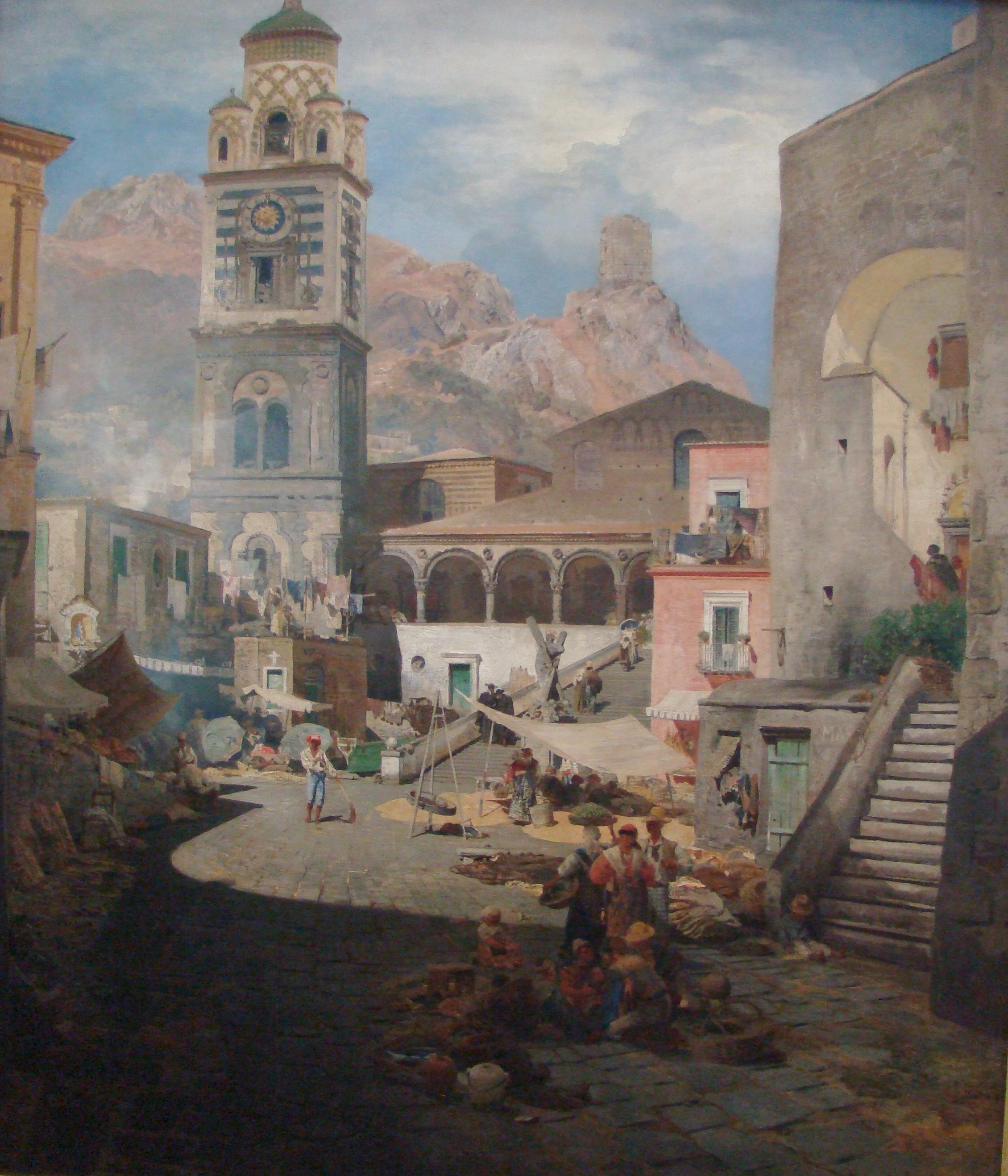 Oswald_Achenbach_Marktplatz_Amalfi.jpg