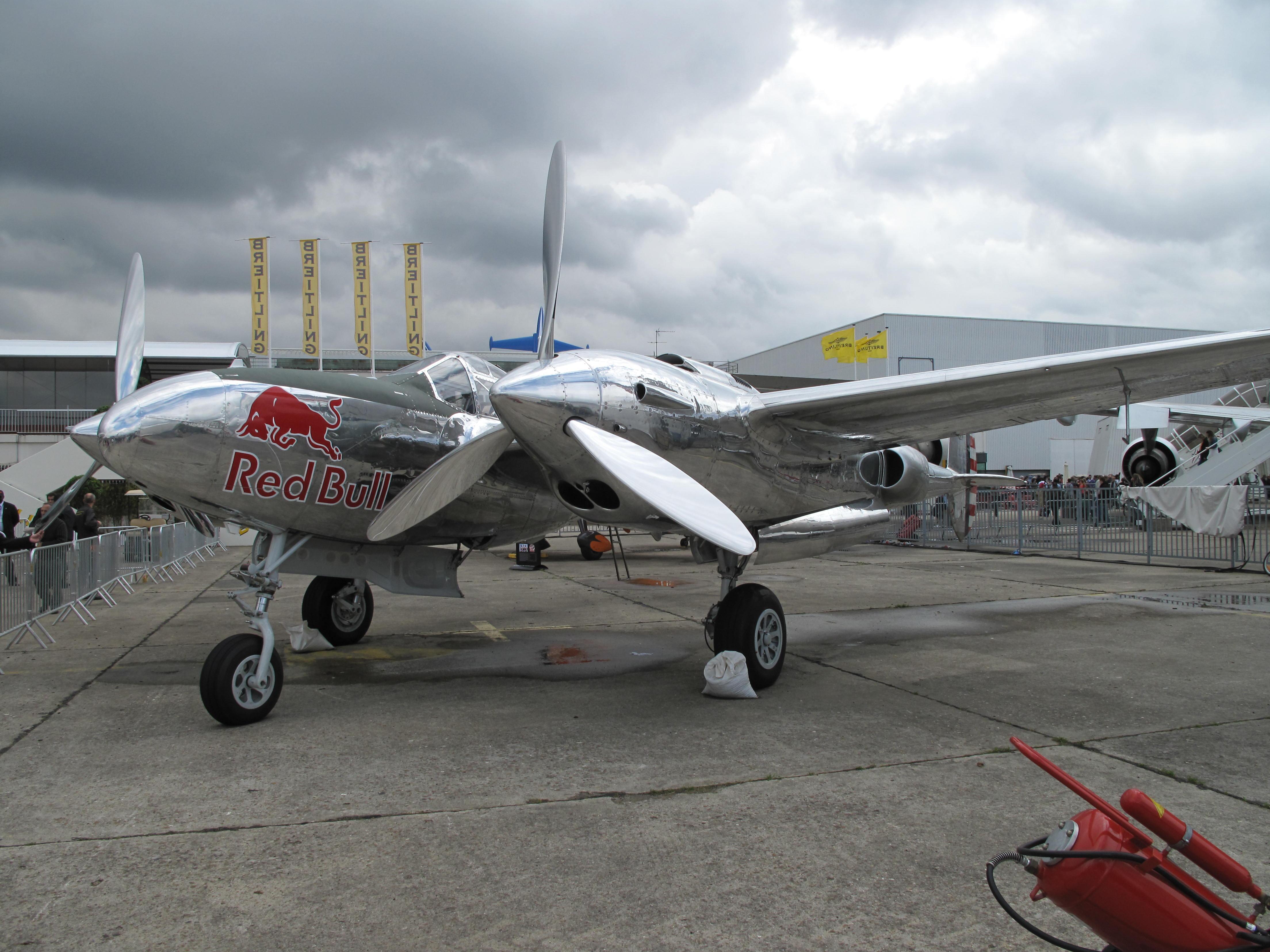 file p 38 lightning red bull at paris air show 2013 1 jpg