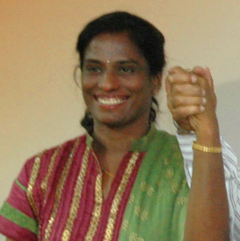 English: This picture is of P. T. Usha, a form...