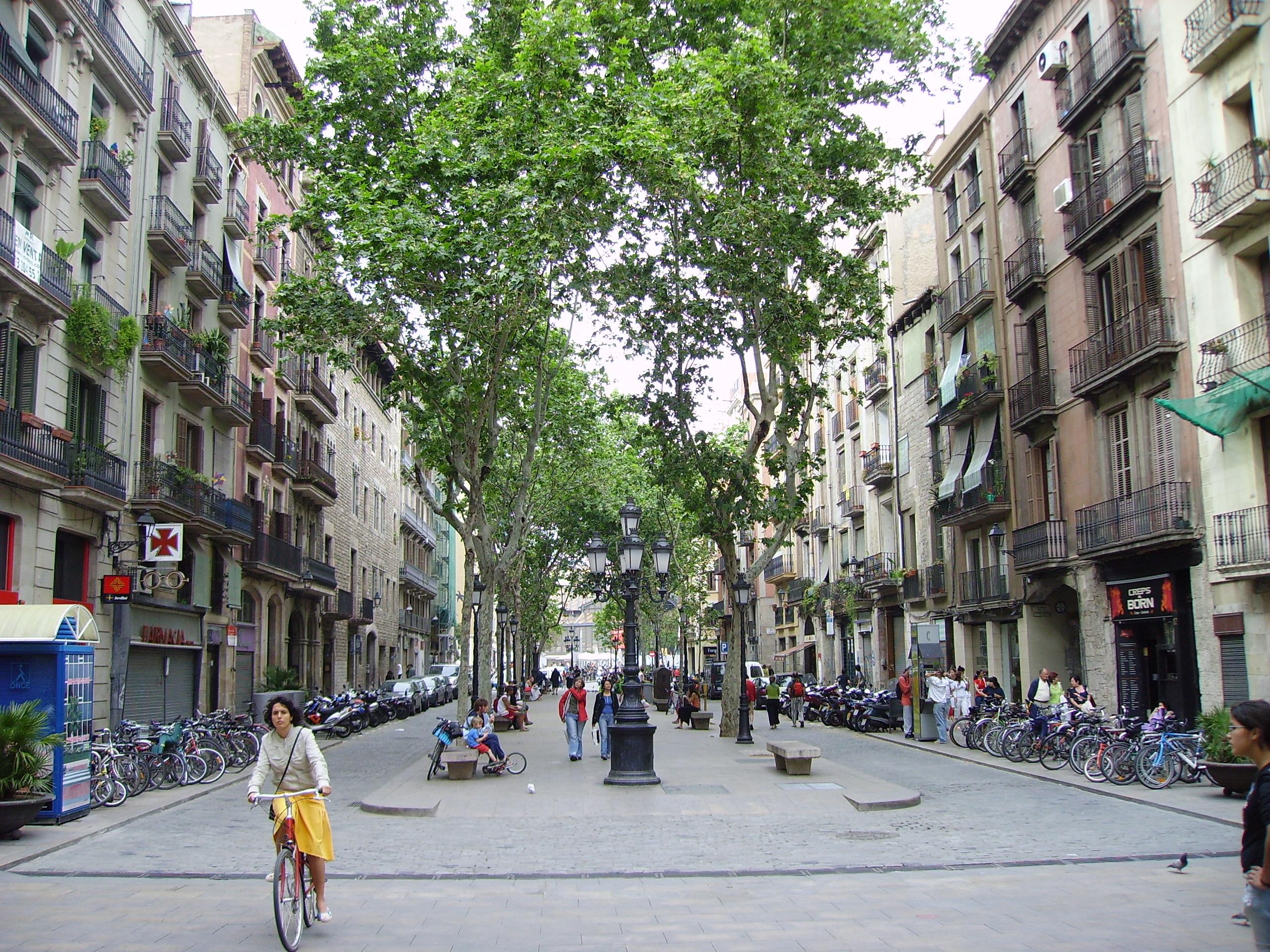 Fitxer passeig del born barcelona catalonia jpg for Hoteles en el born de barcelona