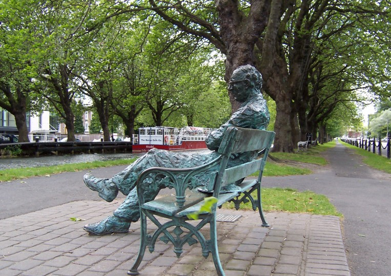 Patrick Kavanagh Statue - Grand Canal - Dublin