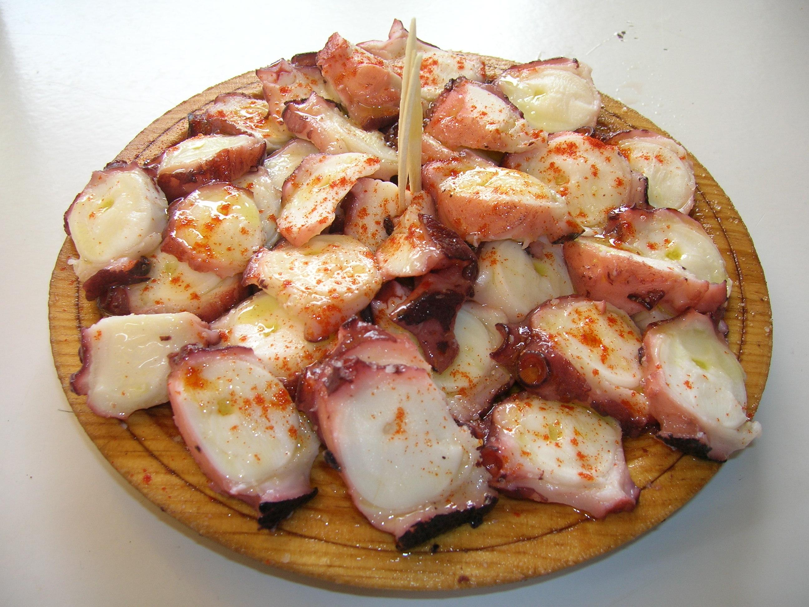 πως μαγειρεύεται το χταπόδι - χταπόδι Γαλικίας